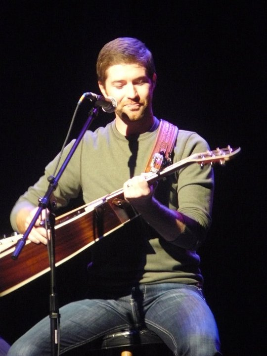 Josh Turner with Randy Montana and Justin Moore