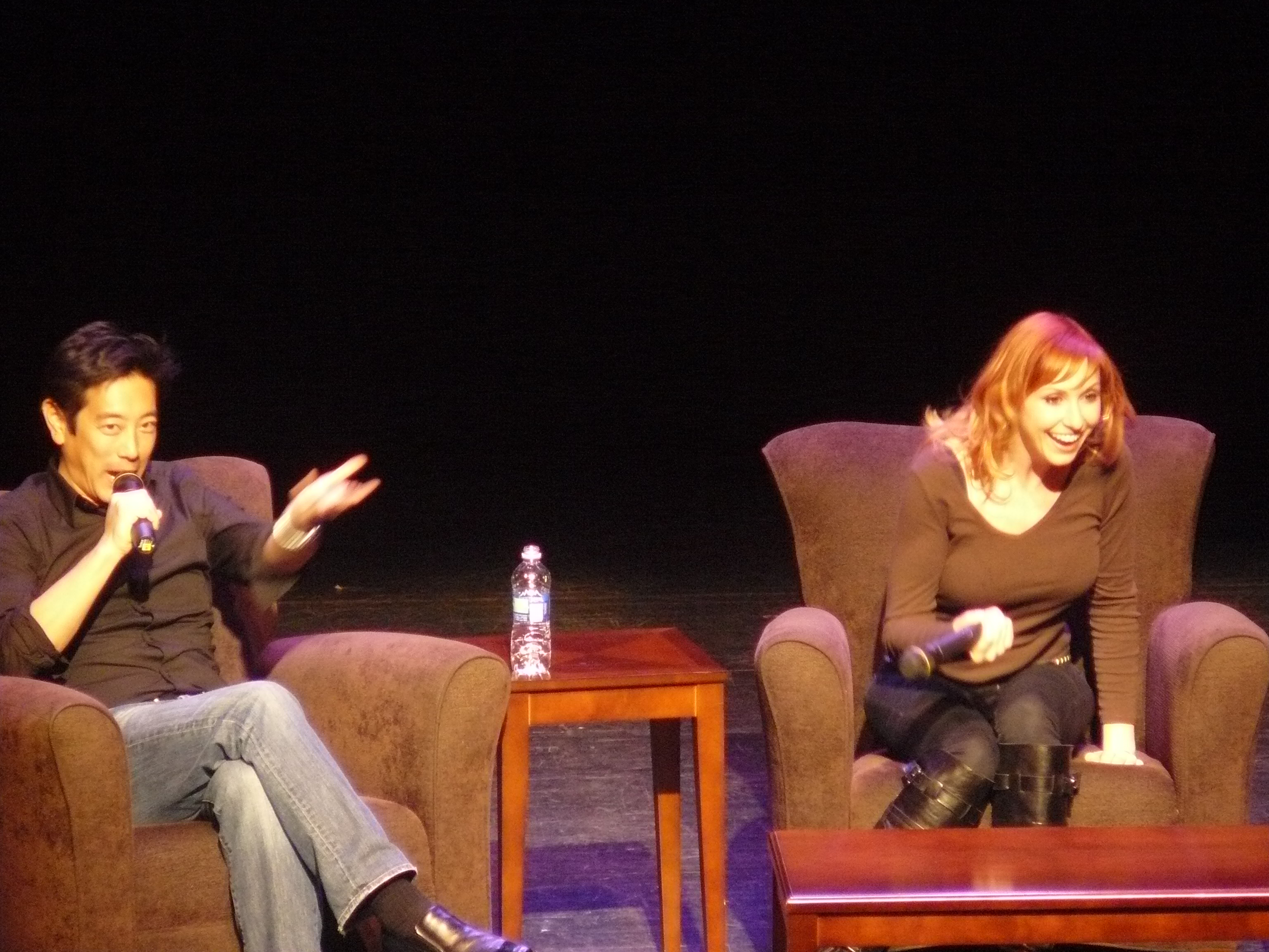 Mythbusters Kari and Grant at The Pullo Center